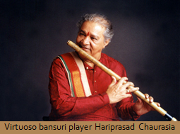 Virtuoso bansuri player Hariprasad Chaurasia