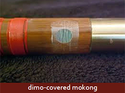 A dimo-covered mokong