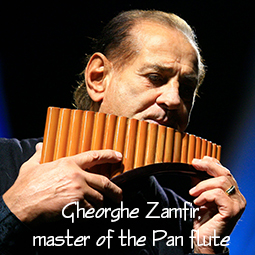 Master of the Pan flute Gheorghe Zamfir